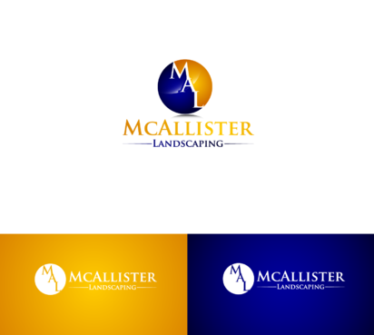 McAllister Landscaping A Logo, Monogram, or Icon  Draft # 9 by satisfactions