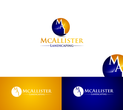 McAllister Landscaping A Logo, Monogram, or Icon  Draft # 10 by satisfactions