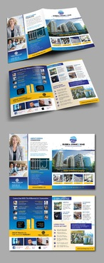 Design by Achiver For BIFOLD BROCHURE FOR AN OFFICE TOWERS