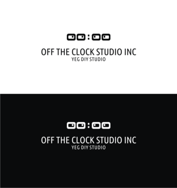 Off the Clock Studio Inc. A Logo, Monogram, or Icon  Draft # 105 by manut