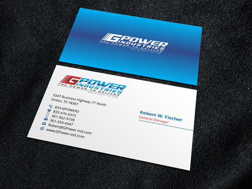 GPower Industries Business Cards and Stationery  Draft # 6 by Xpert