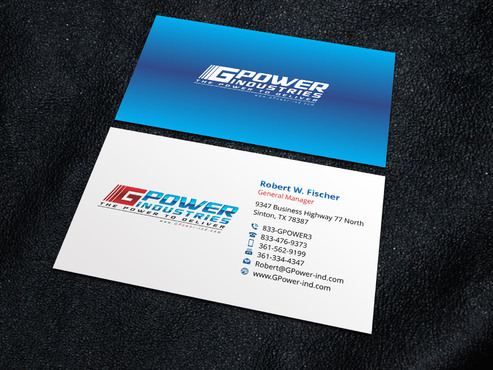 GPower Industries Business Cards and Stationery  Draft # 8 by Xpert