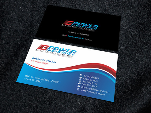 GPower Industries Business Cards and Stationery  Draft # 9 by Xpert