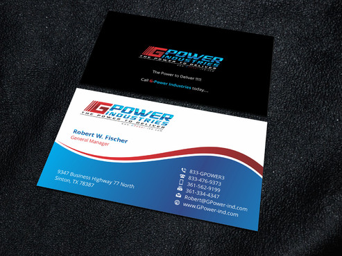 GPower Industries Business Cards and Stationery  Draft # 10 by Xpert
