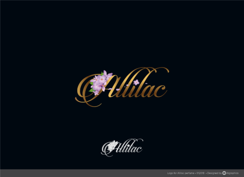 Allilac A Logo, Monogram, or Icon  Draft # 15 by ALgraphics