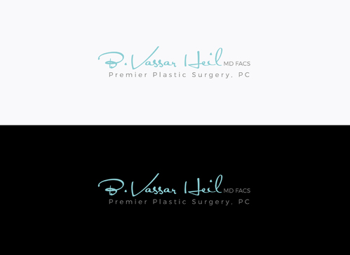 Brian Vassar Heil, MD FACS    Premier Plastic Surgery, PC Logo Winning Design by SahasraDesigns