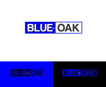 Blue Oak  A Logo, Monogram, or Icon  Draft # 101 by satisfactions