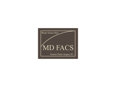 Brian Vassar Heil, MD FACS    Premier Plastic Surgery, PC A Logo, Monogram, or Icon  Draft # 145 by TatangMAssa