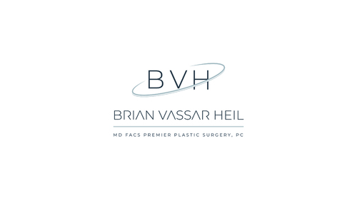 Brian Vassar Heil, MD FACS    Premier Plastic Surgery, PC A Logo, Monogram, or Icon  Draft # 146 by kenart92