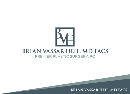 Brian Vassar Heil, MD FACS    Premier Plastic Surgery, PC A Logo, Monogram, or Icon  Draft # 147 by GILADESAIN