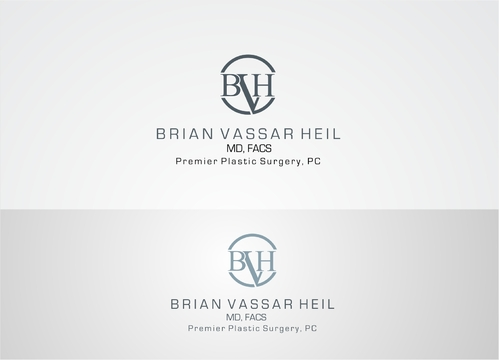 Brian Vassar Heil, MD FACS    Premier Plastic Surgery, PC A Logo, Monogram, or Icon  Draft # 160 by afiafalisha