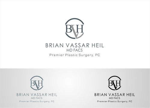 Brian Vassar Heil, MD FACS    Premier Plastic Surgery, PC A Logo, Monogram, or Icon  Draft # 167 by afiafalisha