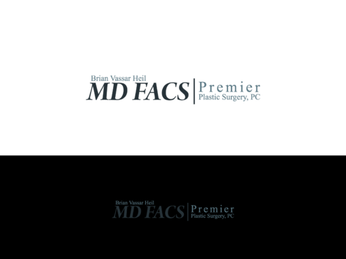 Brian Vassar Heil, MD FACS    Premier Plastic Surgery, PC A Logo, Monogram, or Icon  Draft # 170 by TatangMAssa