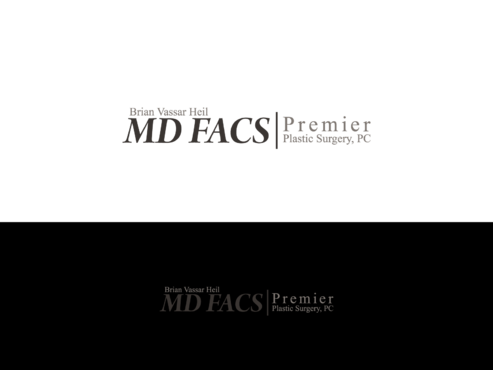 Brian Vassar Heil, MD FACS    Premier Plastic Surgery, PC A Logo, Monogram, or Icon  Draft # 171 by TatangMAssa