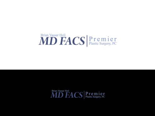 Brian Vassar Heil, MD FACS    Premier Plastic Surgery, PC A Logo, Monogram, or Icon  Draft # 173 by TatangMAssa