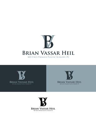 Brian Vassar Heil, MD FACS    Premier Plastic Surgery, PC A Logo, Monogram, or Icon  Draft # 177 by irfandesign