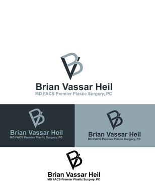 Brian Vassar Heil, MD FACS    Premier Plastic Surgery, PC A Logo, Monogram, or Icon  Draft # 178 by irfandesign