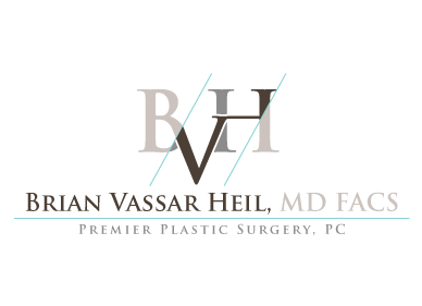 Brian Vassar Heil, MD FACS    Premier Plastic Surgery, PC A Logo, Monogram, or Icon  Draft # 180 by rahul4logos
