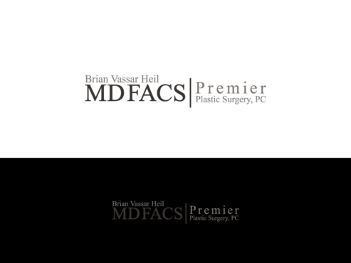 Brian Vassar Heil, MD FACS    Premier Plastic Surgery, PC A Logo, Monogram, or Icon  Draft # 183 by TatangMAssa