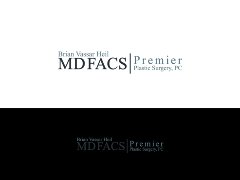 Brian Vassar Heil, MD FACS    Premier Plastic Surgery, PC A Logo, Monogram, or Icon  Draft # 184 by TatangMAssa