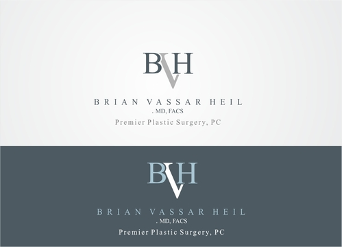 Brian Vassar Heil, MD FACS    Premier Plastic Surgery, PC A Logo, Monogram, or Icon  Draft # 191 by afiafalisha