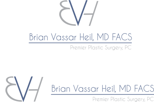 Brian Vassar Heil, MD FACS    Premier Plastic Surgery, PC A Logo, Monogram, or Icon  Draft # 202 by bajulijo