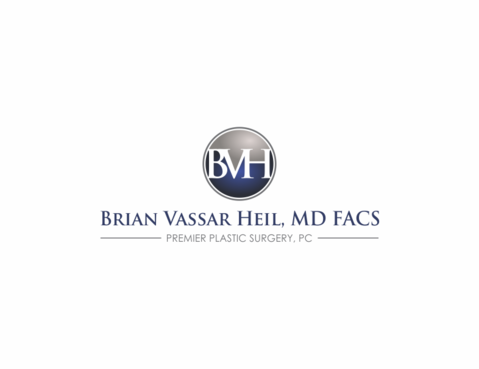 Brian Vassar Heil, MD FACS    Premier Plastic Surgery, PC A Logo, Monogram, or Icon  Draft # 203 by thebloker