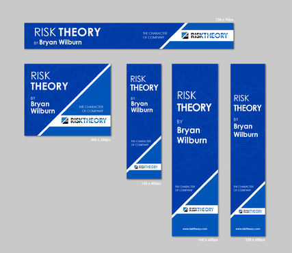 RISK THEORY BY Bryan Wilburn, THE CHARACTER OF COMPANY Static/Animated Display Ads  Draft # 28 by 4graphicdesigner