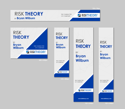 RISK THEORY BY Bryan Wilburn, THE CHARACTER OF COMPANY Static/Animated Display Ads  Draft # 29 by 4graphicdesigner