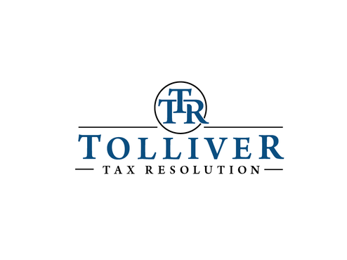 Tolliver Tax Resolution Logo Winning Design by Harni