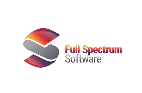 Full Spectrum Software A Logo, Monogram, or Icon  Draft # 32 by LogoXpert