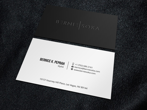 Bernie Soka Business Cards and Stationery  Draft # 6 by Xpert