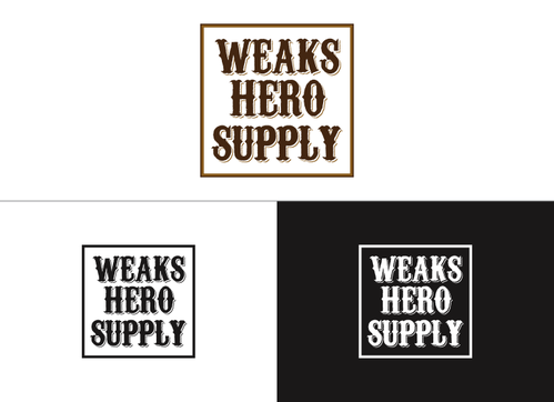 Weaks Hero Supply A Logo, Monogram, or Icon  Draft # 108 by christopher64