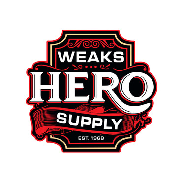 Weaks Hero Supply Logo Winning Design by IrvinLubi