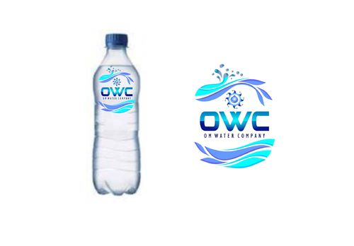 Om Water Company needs new and fresh water bottle label Other  Draft # 16 by oxcygen