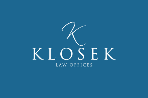 """Klosek Law Offices"" or ""Law Offices of Jack Klosek"" A Logo, Monogram, or Icon  Draft # 517 by logobuilders"