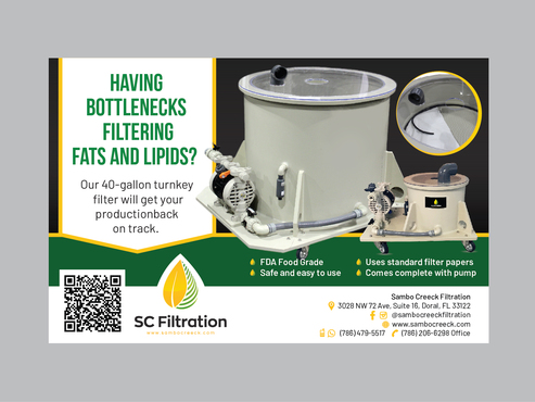 SC Filtration Marketing collateral Winning Design by Achiver