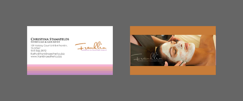 Boutique spa offering specialized result oriented services Business Cards and Stationery  Draft # 2 by merem