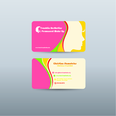 Boutique spa offering specialized result oriented services Business Cards and Stationery  Draft # 7 by riezta06