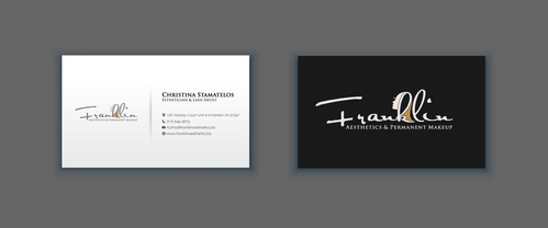 Boutique spa offering specialized result oriented services Business Cards and Stationery  Draft # 8 by merem