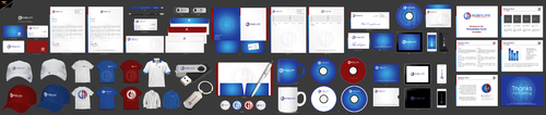 Global One Medical Business Cards and Stationery Winning Design by einsanimation