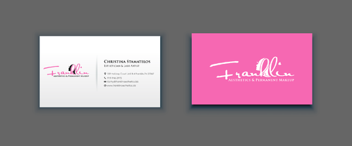 Boutique spa offering specialized result oriented services Business Cards and Stationery  Draft # 15 by merem