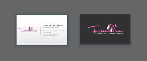 Boutique spa offering specialized result oriented services Business Cards and Stationery  Draft # 16 by merem