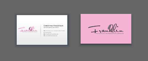 Boutique spa offering specialized result oriented services Business Cards and Stationery  Draft # 17 by merem
