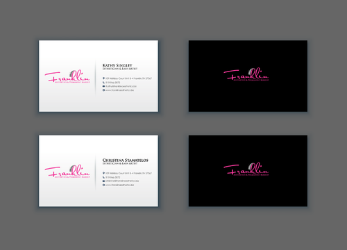 Boutique spa offering specialized result oriented services Business Cards and Stationery  Draft # 19 by merem