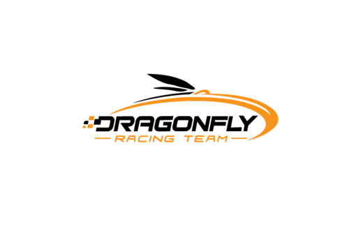 Dragonfly Racing Team Logo Winning Design by Stardesigns