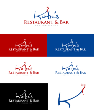 Kobe's Restaurant & Bar, LLC Logo Winning Design by DesignHero