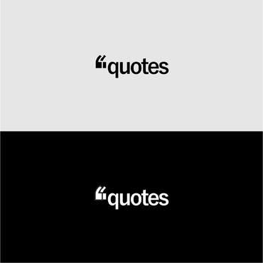 Quotes  A Logo, Monogram, or Icon  Draft # 609 by sigitjunior