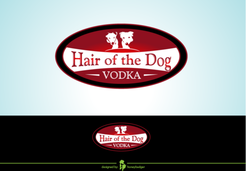 Hair of the Dog Vodka A Logo, Monogram, or Icon  Draft # 1 by honeybadger