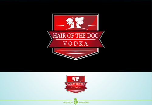 Hair of the Dog Vodka A Logo, Monogram, or Icon  Draft # 2 by honeybadger